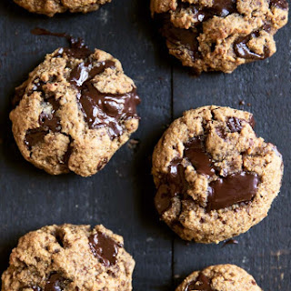 The Best Paleo Chocolate Chunk Cookies (made with coconut and almond flour).