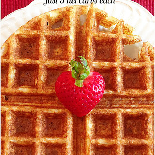 Low Carb Waffles.