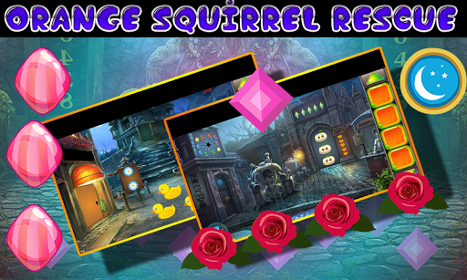 Best Escape Games  33 Orange Squirrel Rescue Game 1.0.0 screenshots 1