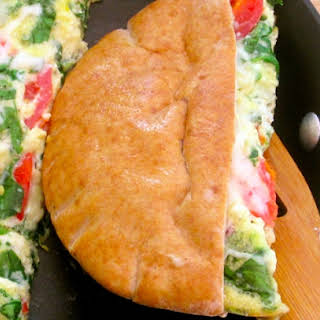 Pita Pocket Breakfast Sandwich.