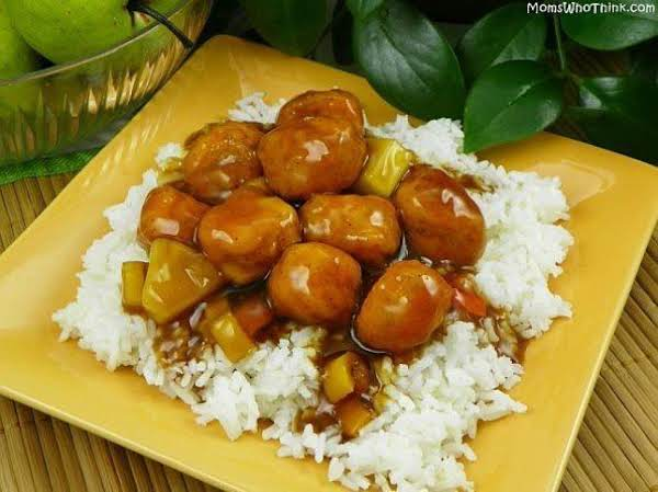 Easy Sweet And Sour Chicken With Rice Recipe