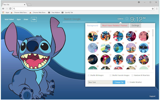 Lilo And Stitch Backgrounds HD Custom New Tab