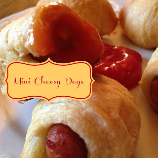 Mini Cheesy Dogs Football Friday