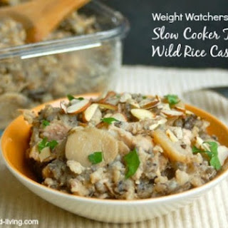Slow Cooker Turkey and Wild Rice Casserole.