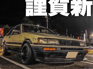 カローラレビン AE86 GT-APEXのカスタム事例画像 オヤジJr.【OYAGE Jr.】さんの2021年01月01日13:01の投稿