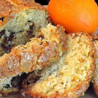 Orange Candied Ginger Bread
