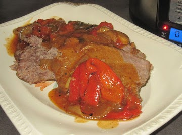 Paprika Spiced Pot Roast With Sour Cream Gravy Recipe
