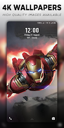 4K Superheroes Wallpapers - Live Wallpaper Changer APK screenshot thumbnail 1