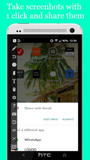 Screen Draw Screenshot Pro app for Android screenshot