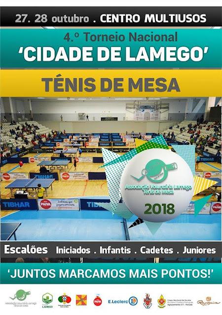 Ténis de Mesa - 4º Torneio Nacional