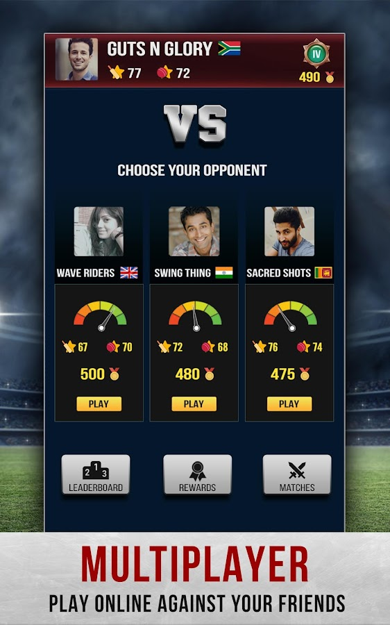 Hitwicket™ Cricket Game 2017 - Own a T20 Team- screenshot
