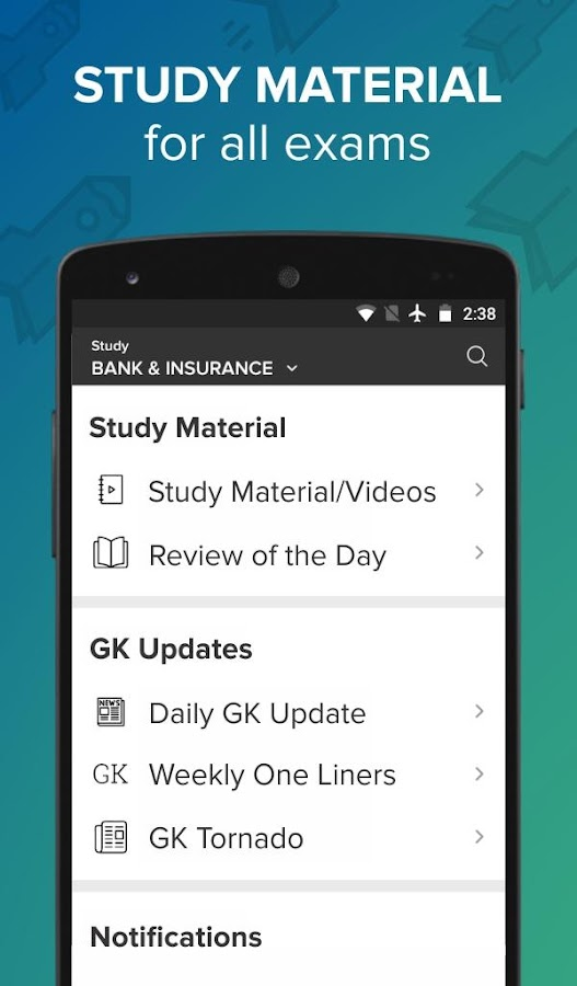 Screenshots of No.1 Exam Prep App: Quiz, Previous Year Papers, GK for iPhone