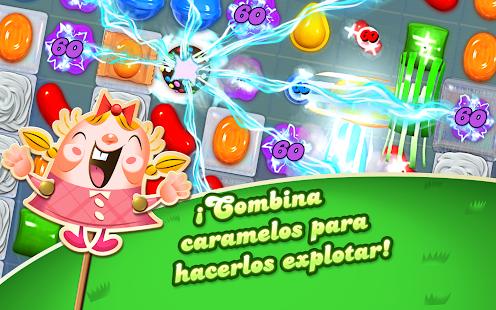 Candy Crush Saga: miniatura de captura de pantalla