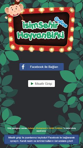 İsim Şehir Hayvan Online - Kelime Oyunu  screenshots 1