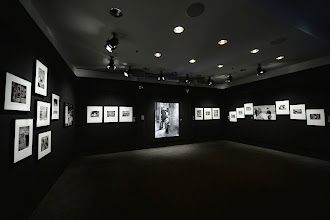 """Photo: Curated by the Musée de l'Elysée located in Lausanne, Switzerland, this unique photographic exhibition pays homage to the beloved actor and producer Charlie Chaplin and retraces the most famous moments of his career.   """"Chaplin Forever!"""" is on display at the Film Society of Lincoln Center from April 25th to May 4th, 2014.   Read more at: http://bit.ly/1k90nlv"""