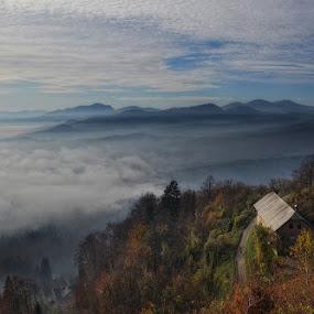 by Uroš Florjančič - Landscapes Mountains & Hills