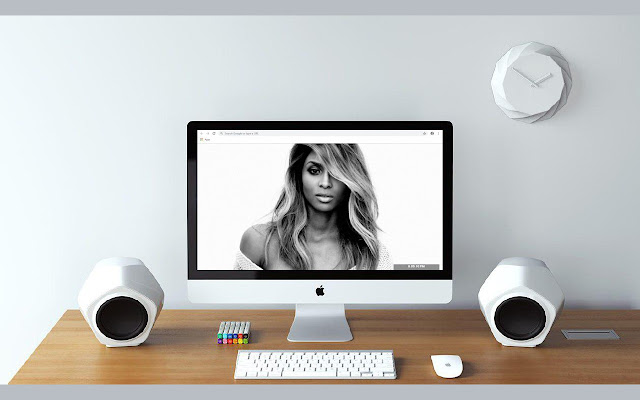 Ciara New Tab & Wallpapers Collection