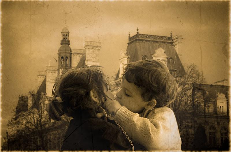 bacio all' Hotel de Ville di D. Costantini