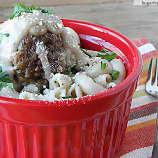 Creamy Crock Pot Turkey Meatballs [Gluten Free].
