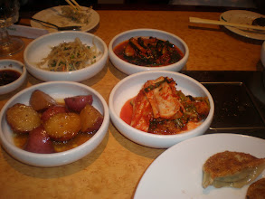 Photo: Dinner! We had Korean