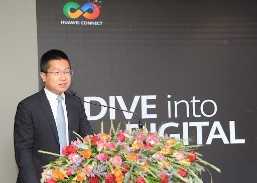 Huawei Director of Public Sector QiMeng.