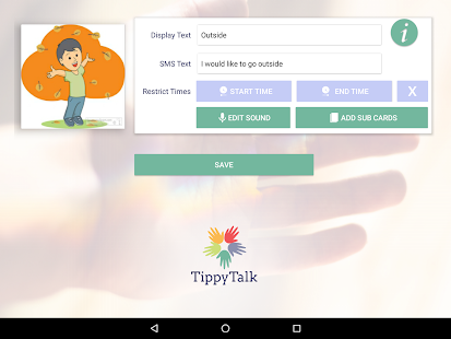 TippyTalk- screenshot thumbnail