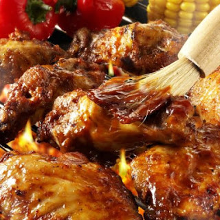 Glazed BBQ Wings