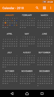 App Simple Calendar APK for Windows Phone
