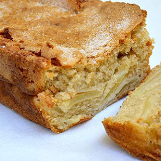 Dutch Apple Sponge Cake.