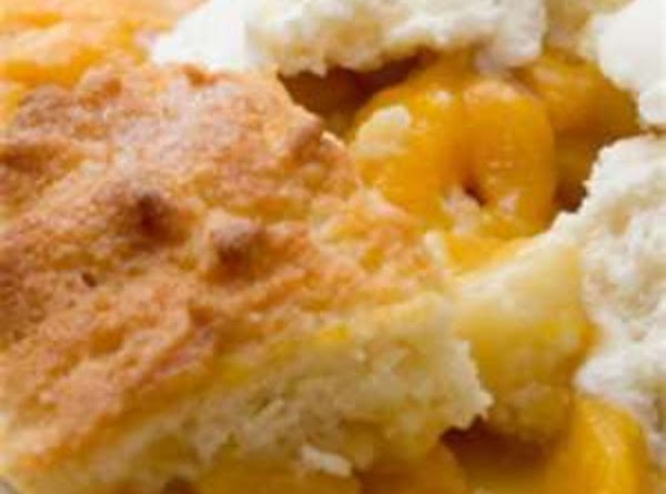 Quick Peach Cobbler Recipe
