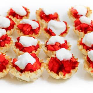 Skinny, Mini Strawberry Tarts.
