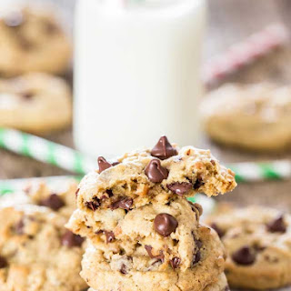Hazelnut Toffee Chocolate Chip Cookies.