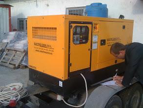 Photo: Generator Perkins 25 kva, Santier Bujoreanca