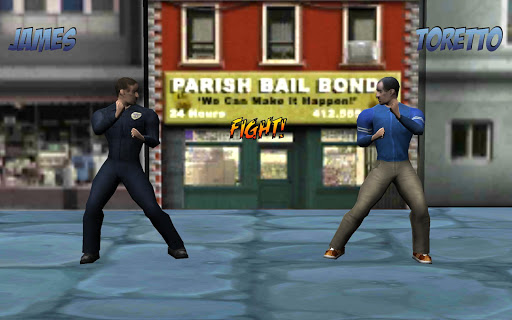 3D Fighting Game Street Fight