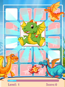 Dinosaur Match Card 1.0.4 Mod APK Updated Android 3