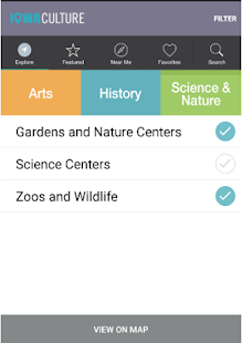Iowa Culture App- screenshot thumbnail