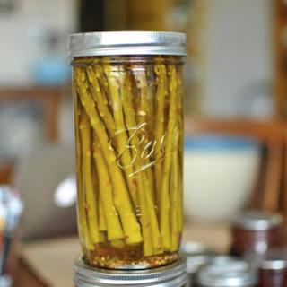 Pickled Asparagus.