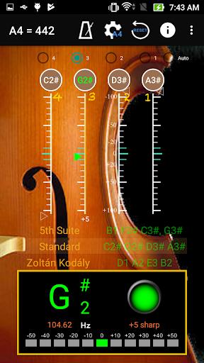 Cello Tuner &  Metronome ss2