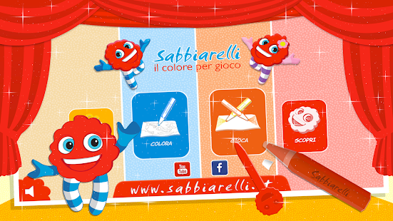 Sabbiarelli - Paint and Play- screenshot thumbnail