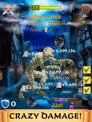 Monster Clicker: Idle Adventure | Halloween Games 4.6.504 screenshots 7
