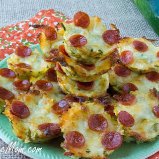 Mini Zucchini Pizza Bites.