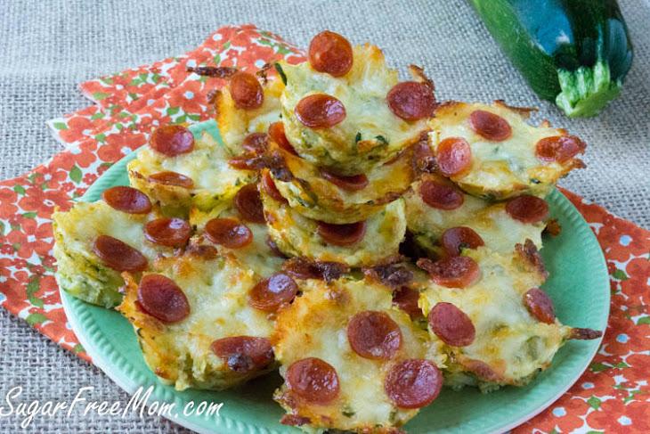 Mini Zucchini Pizza Bites Recipe