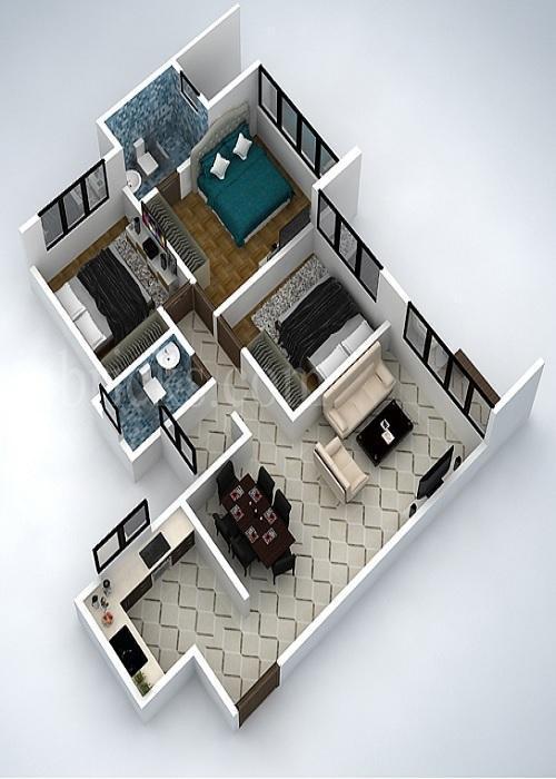 3D room planner layout- screenshot
