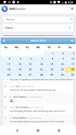 SMS Tracker Plus: Remote Cell Tracker Screenshot