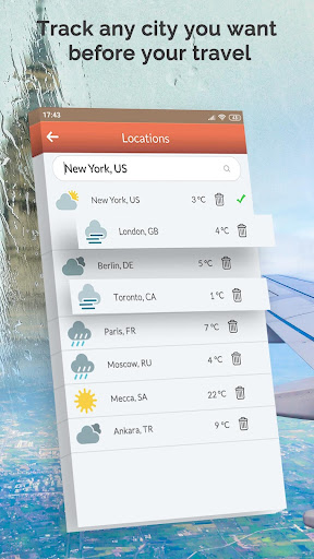 Weather Forecast: Today Temperature, Local Weather 2.0 screenshots 3