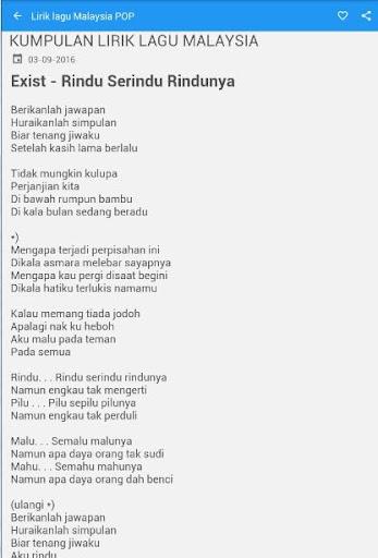 Chord Gitar Sultan Mencari Alasan : chord, gitar, sultan, mencari, alasan, Lirik, Malaysia, 1.2.0, Download, Com.toridev.liriklagumalaysia