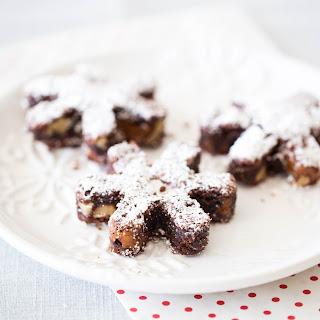 ROLO snowflake brownies