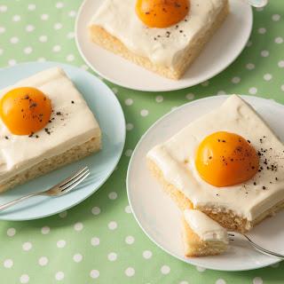 Spiegeleikuchen - Ostereikuchen