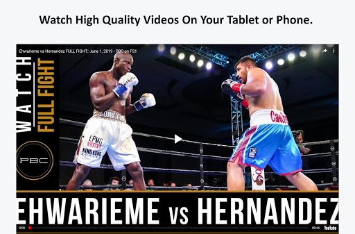 Boxing News, Videos, & Social Media 3.7 screenshots 6