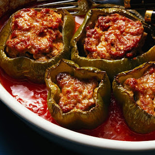 Ness's Slow Cooker Stuffed Peppers.